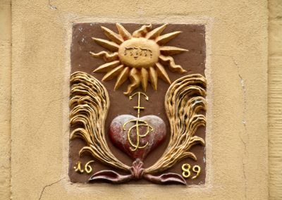 Hausdetail in Pirna (Sachsen)