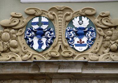 Volckamerhaus in Pirna (Detail)