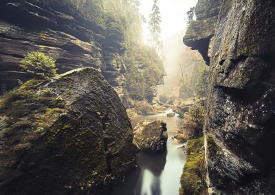 Wanderung-im-Elbsandsteingebirge